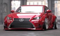 """Lexus RC độ """"lết đất"""" đến triển lãm SEMA"""