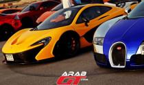 """Hơn 150 siêu xe """"tụ tập"""" ở Dubai"""
