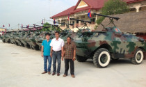 Video hot trong tuần: Người nông dân Tây Ninh chế xe bọc thép cho Campuchia