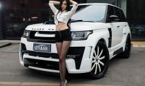 Người đẹp khoe dáng chuẩn bên Range Rover độ