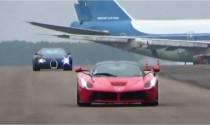 LaFerrari đánh bại vua tốc độ Bugatti Veyron