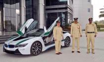 Cảnh sát Dubai 'rước' BMW i8 về dinh