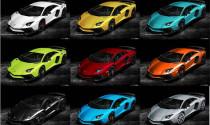Chiêm ngưỡng bộ sưu tập 34 màu của Lamborghini Aventador SV