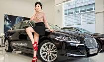Jaguar XF đọ dáng cùng người đẹp