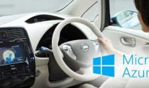 Nissan hợp tác cùng Microsoft trong dự án kết nối dữ liệu ô tô