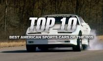 Những mẫu xe thể thao Mỹ danh tiếng của thập kỷ 80
