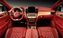 Chiêm ngưỡng cabin bằng da cao cấp của Mercedes-Benz GLE