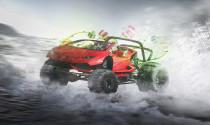 Chùm ảnh những mẫu xe được thiết kế riêng dành cho ông già Noel