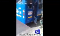 Tên trộm bị bắt nhờ sự nhanh trí của tài xế xe buýt
