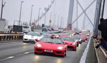 75 chiếc Ferrari tham gia diễu hành tại Anh
