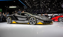 "Siêu phẩm Lamborghini Centenario gây ""hỗn loạn"" tại Anh"