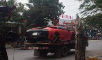 """Lamborghini Murcielago LP572 """"di cư"""" từ Hà Nội sang Hải Phòng bằng xe chuyên dụng"""