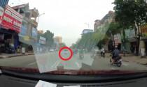 Người đi đường suýt gặp tai nạn nghiêm trọng vì chó thả rông