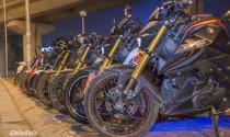 Dàn Yamaha TFX 150 tụ họp tại Hà Nội