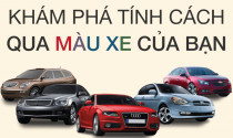 Khám phá tính cách qua màu xe của bạn