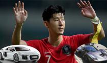 """Cầu thủ đắt giá nhất Châu Á - Son Heung min sở hữu hàng loạt siêu xe """"khủng"""""""