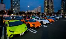 Mãn nhãn với hơn 200 chiếc Lamborghini trên đường phố Yokohama