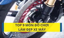 Top 9 món đồ chơi làm đẹp xe máy