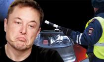 Elon Musk thán phục trước tài độ xe chạy ngược của thanh niên người Nga