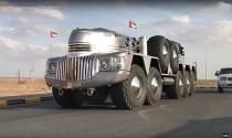 Khám phá xe off-road 'Frankenstein' của Hoàng thân Ả-rập