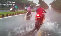 Ý thức của nam thanh niên chạy mô-tô PKL khiến nhiều người ngao ngán