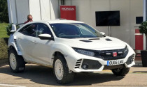 """Honda Civic Type R độ:off-road hay """"tay đua F1""""?"""