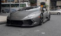 Bắt gặp Lamborghini Huracan LP610-4 độ mâm cực độc trên phố của đại gia Sài thành