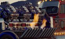 Khám phá siêu xe tải sử dụng động cơ... 24 xi-lanh