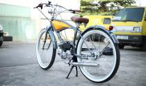 Độc đáo xe đạp gắn động cơ Fuki Planning FK310 của xứ phù tang