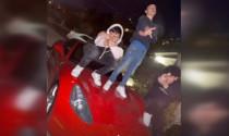 """Nhảy lên Ferrari California để sống ảo, nhóm """"trẻ trâu"""" phải đền bù 140 triệu đồng"""