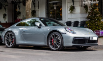 Porsche 911 2020 đầu tiên ra biển Hà Nội, giá khoảng 11 tỷ đồng