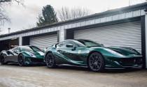 Ngắm bộ đôi Ferrari trong bộ áo lạ mắt Verde Scuro