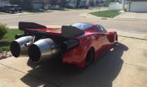 Đã mắt với siêu xe Ferrari Enzo với trang bị động cơ máy bay phản lực