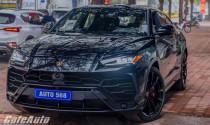 Khám phá Lamborghini Urus màu đen độc nhất Việt Nam của đại gia Hà thành