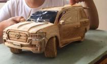 """Đã mắt với quá trình """"chế tạo"""" Toyota Land Cruiser 2020 từ gỗ của youtuber người Việt"""