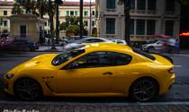 Maserati Granturismo MC Sportline tứ quý 9 độc nhất Việt Nam xuống phố