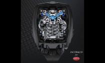 Đồng hồ siêu độc mang trên mình quả tim W16 của Bugatti