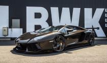 Lamborghini Aventador màu nâu độ Liberty Walk độc nhất Thế giới: siêu phẩm cho dân chơi