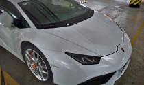 """Lamborghini Huracan LP610-4 màu trắng độc nhất Việt Nam """"nằm ngủ"""" dưới hầm"""