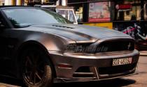 Bắt gặp Ford Mustang độc nhất Việt Nam của chồng ca nương Kiều Anh xuống phố