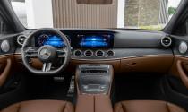 Vô-lăng trên Mercedes-Benz E-Class 2021 'vi diệu' ra sao?