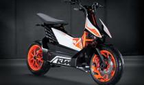 Xem trước mẫu xe tay ga chạy điện của KTM sắp ra mắt thế giới