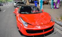 Tậu Ferrari 458 Italia độ Liberty Walk, đại gia Hà thành tốn bao tiền?