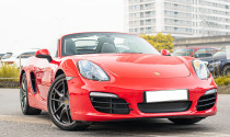Vẻ đẹp Porsche Boxster được thừa hưởng nhiều từ huyền thoại 911