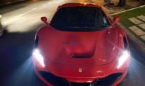 """""""Hàng độc"""" Ferrari F8 Tributo của Cường Đô-la lần đầu lộ diện trên phố"""
