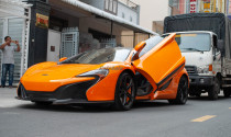 """Cận cảnh """"tình cũ"""" McLaren 650S Spider của Minh Nhựa về tay đại gia Cần Thơ"""