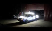 Xe sáng như sao giữa đường với 500 bóng đèn LED