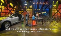 9 máy phát điện 'chạy bằng cơm' cấp được bao nhiêu điện cho Tesla Model X?