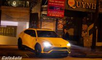 Con trai bầu Hiển mang Lamborghini Urus triệu đô đi dạo phố đêm Hà Nội