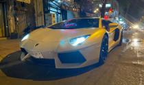 Lamborghini Aventador LP700-4 độ pô trăm triệu xuống phố Sài thành